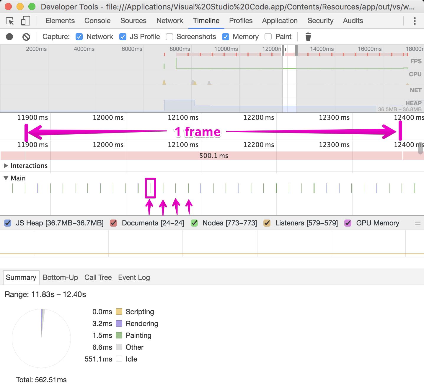 Visual Studio Code отнимает 13% ресурсов CPU из-за мерцания курсора - 2