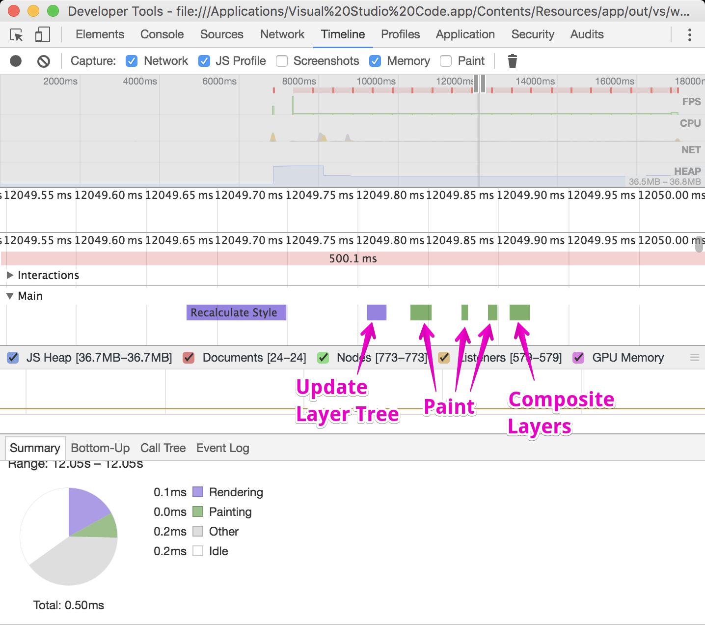 Visual Studio Code отнимает 13% ресурсов CPU из-за мерцания курсора - 3