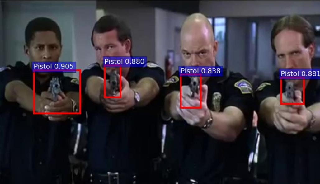 Испанские ученые разработали систему обнаружения пистолетов на изображениях - 2