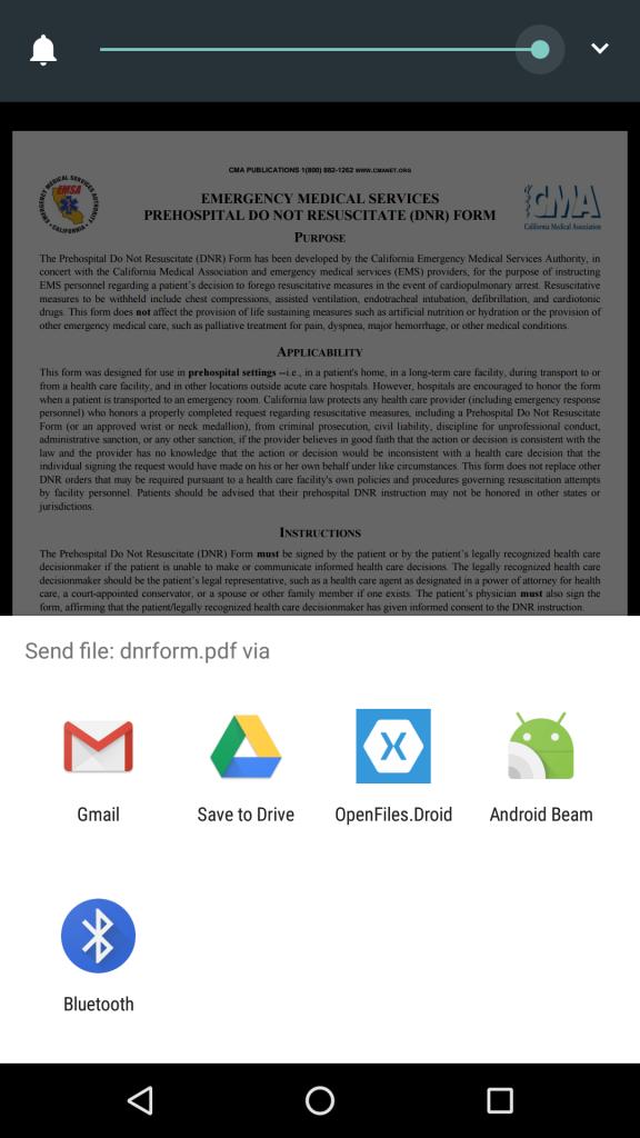 Отправка файлов в приложение Xamarin.Forms. Часть 2 - 3