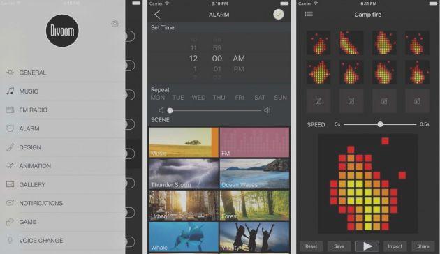 Divoom TimeBox: настольный bluetooth-динамик с пиксельным дисплеем - 3