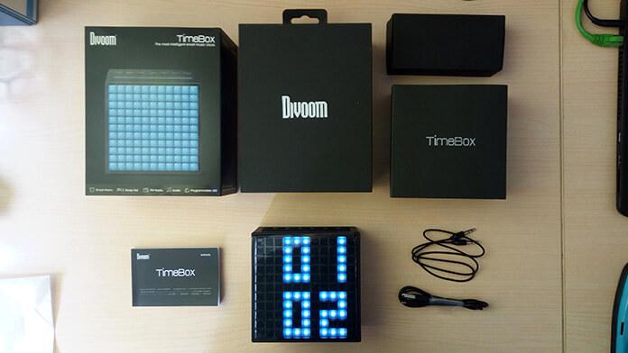 Divoom TimeBox: настольный bluetooth-динамик с пиксельным дисплеем - 1