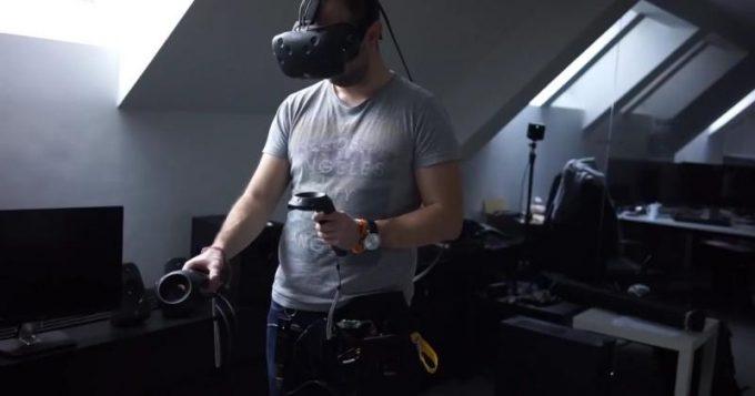 Quark VR показала прототип беспроводной гарнитуры виртуальной реальности HTC Vive