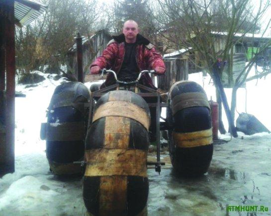 Черниговский егерь собрал уникальный «внедорожник» из старых запчастей