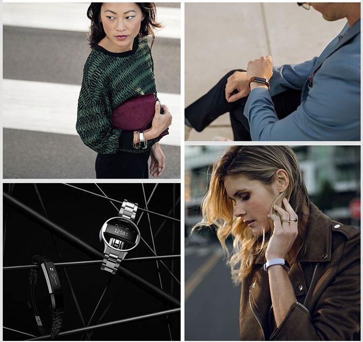 Устройство Fitbit Alta HR можно использовать в качестве наручных часов
