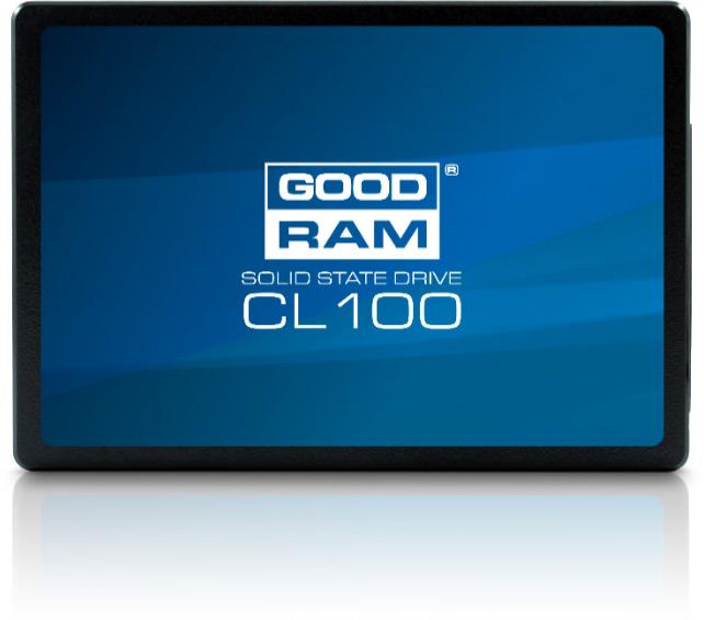 В твердотельных накопителях Goodram CL100 используется флэш-память TLC NAND и двухканальные контроллеры