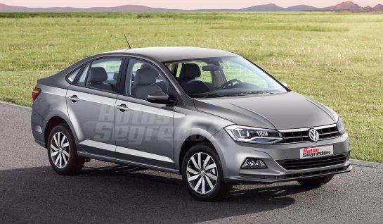 Volkswagen Polo Sedan 2018: первые изображения нового седана Поло