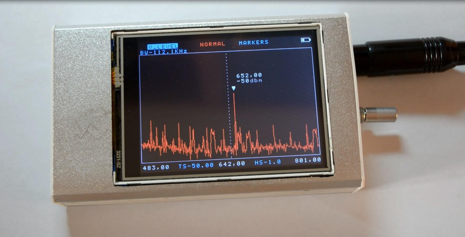 История одного анализатора спектра - 1