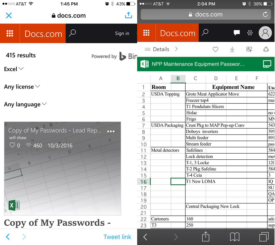 На Docs.com доступны для поиска конфиденциальные документы пользователей Office365 - 4