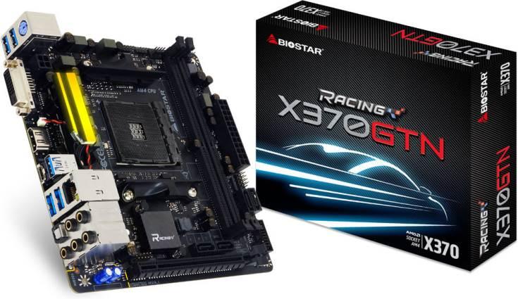 Плата Biostar Racing X370-GTN стоит около $150