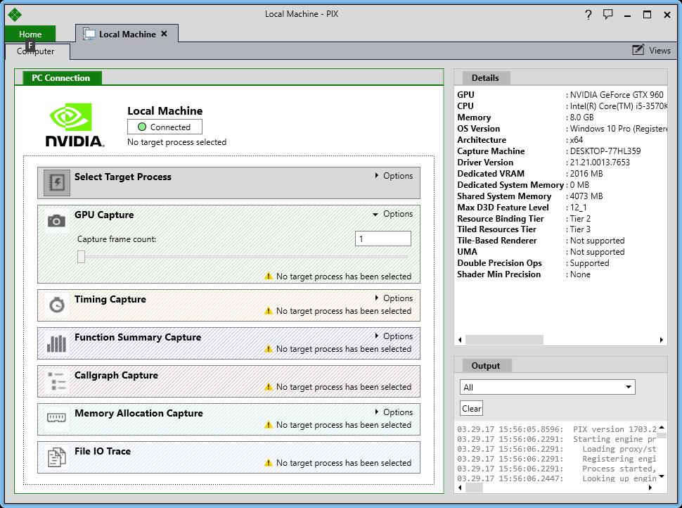 Реинкарнация графического отладчика PIX для DirectX 12 - 2