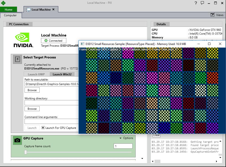Реинкарнация графического отладчика PIX для DirectX 12 - 4