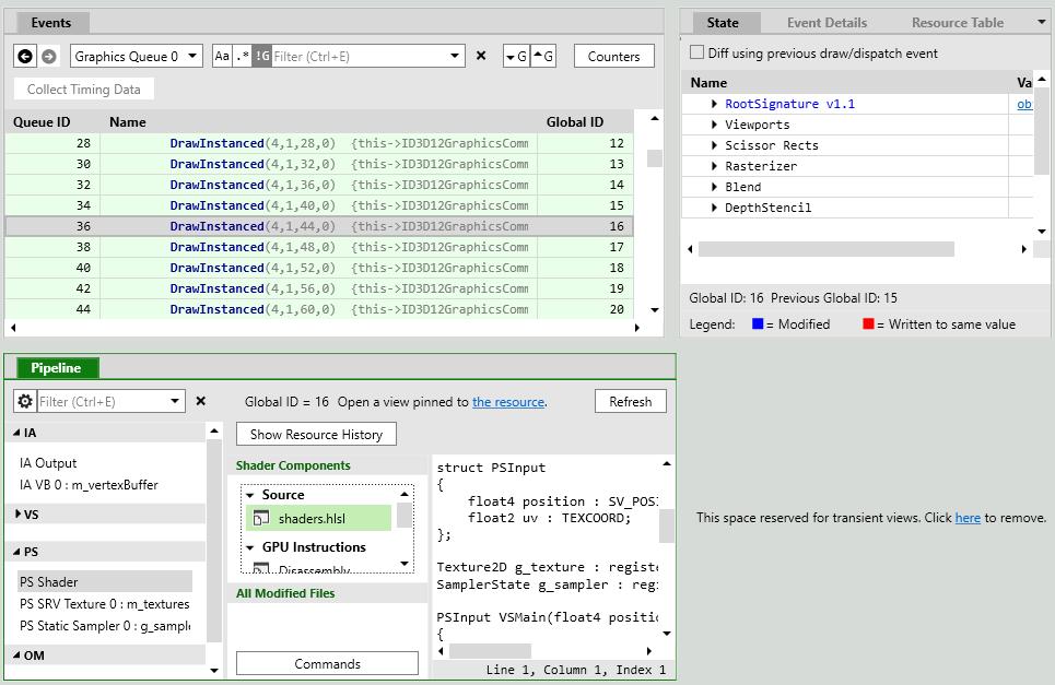 Реинкарнация графического отладчика PIX для DirectX 12 - 8