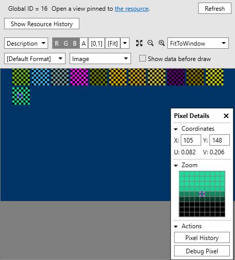 Реинкарнация графического отладчика PIX для DirectX 12 - 9