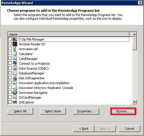 «Сим-Сим, откройся!», или как открыть ссылку через RemoteApp - 3