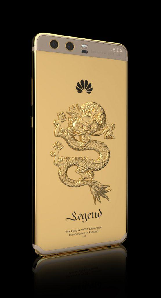 Украшенный золотом и бриллиантами смартфон Huawei P10 предлагается за 2690 евро