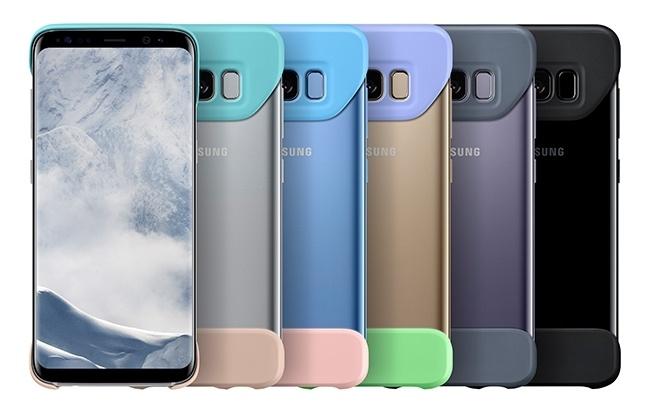 Samsung Galaxy S8 получит странный чехол, покрывающий только верхнюю и нижнюю части смартфона