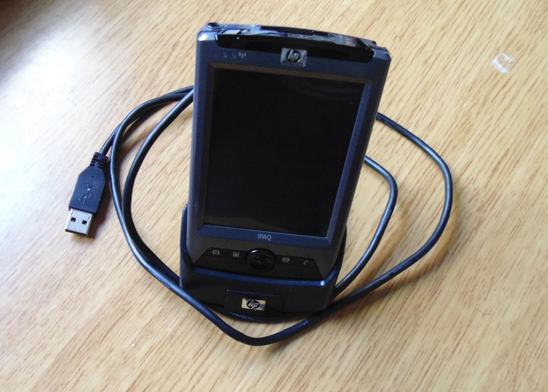 Попытка вернуть былое или КПК с барахолки. Часть 2, сага о КПК HP iPAQ rx3715 - 2