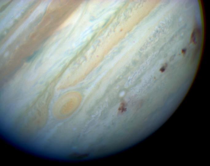 Спросите Итана: почему с Юпитером сталкивается так много объектов? - 10