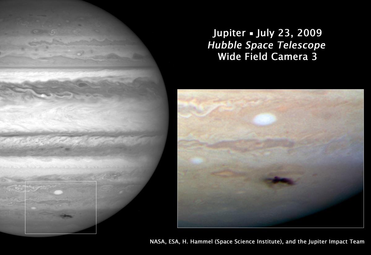 Спросите Итана: почему с Юпитером сталкивается так много объектов? - 4
