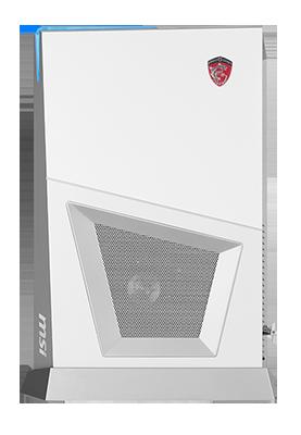 Габариты системного блока MSI Trident 3 Arctic без подставки равны 346 x 72 x 232 мм