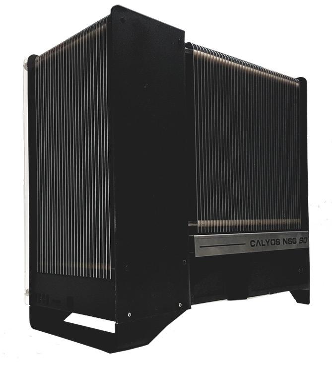 В системе охлаждения NSG S0 используется изменение фазового состояния теплоносителя