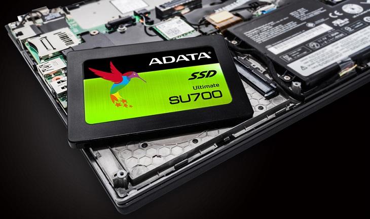 В накопителях Adata SU700 использована технология кэширования WriteBooster