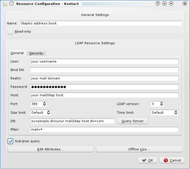 Thunderbird и Kontact вместо MS Outlook - 6