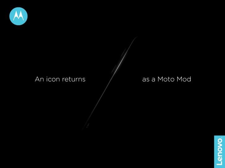 Moto выпустит модуль по мотивам Razr V3