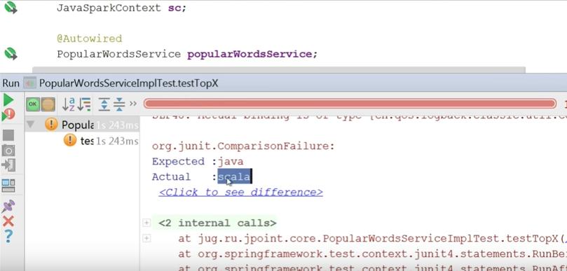 Мифы о Spark, или Может ли пользоваться Spark обычный Java-разработчик - 12