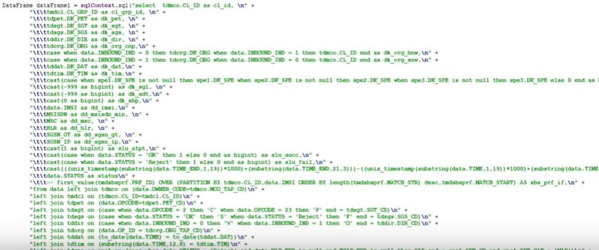 Мифы о Spark, или Может ли пользоваться Spark обычный Java-разработчик - 23