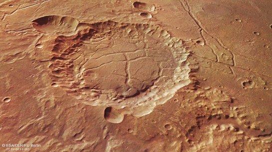 Ученые уверены, что Марс заселен изнутри