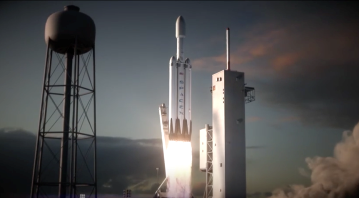 Первая ракета Falcon Heavy будет состоять из двух ранее использовавшихся бустеров
