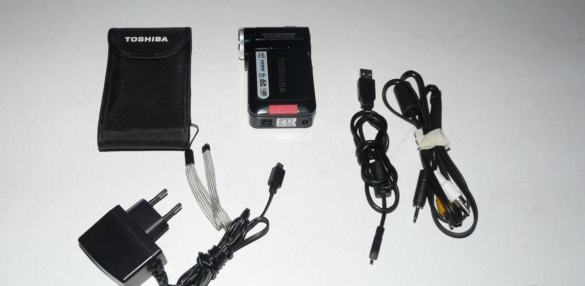 Гаджеты с барахолки: камкордер Toshiba Camileo P10 - 2