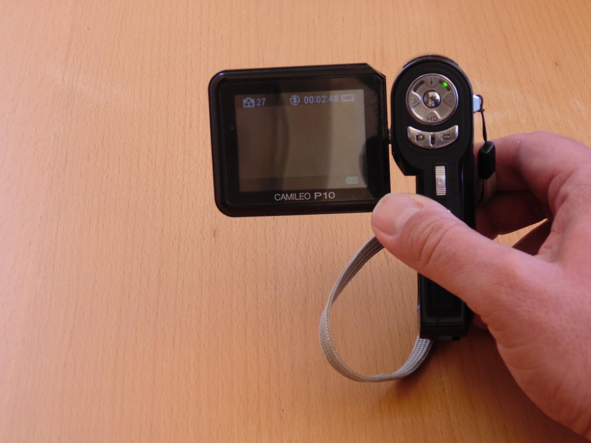 Гаджеты с барахолки: камкордер Toshiba Camileo P10 - 5