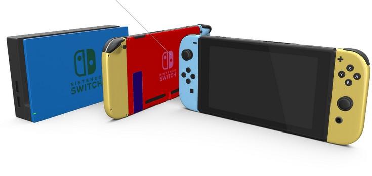 ColorWare предлагает тысячи вариантов оформления Nintendo Switch