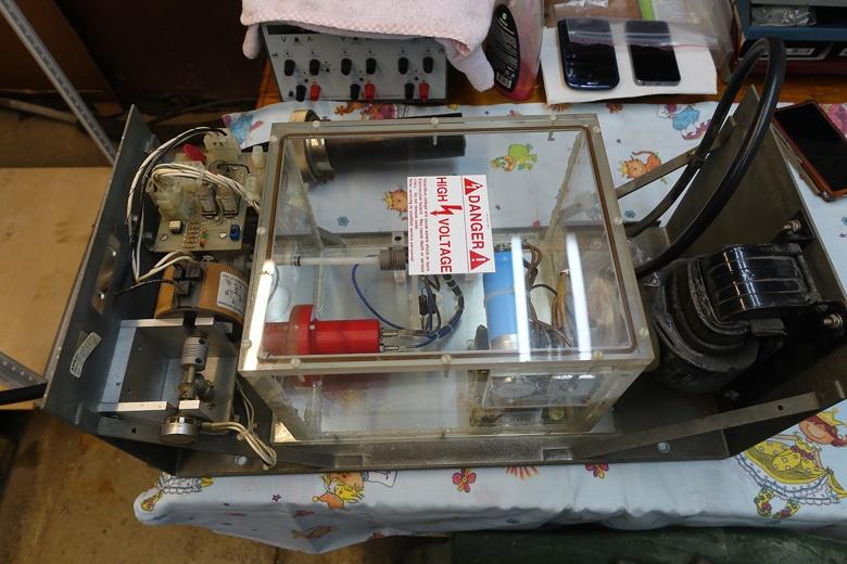 Электронный микроскоп в гараже. Высокое напряжение - 7