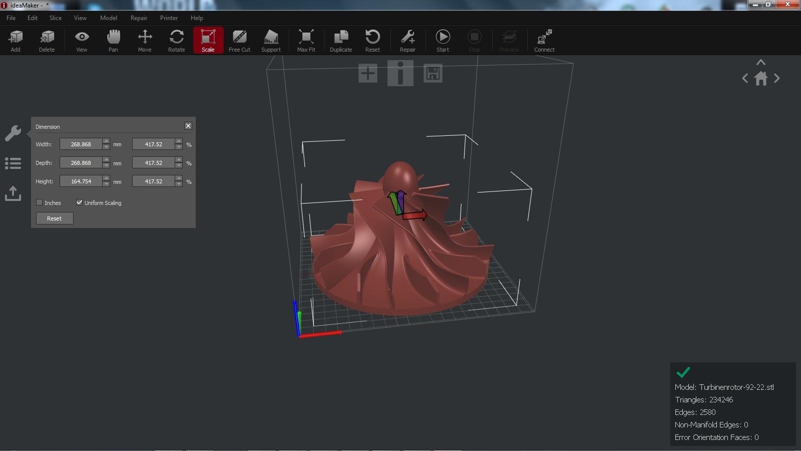 3D принтер Raise3D N2 Dual - 21