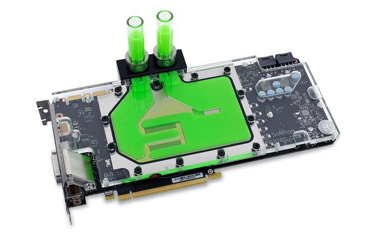Представлен водоблок EK-FC1080 GTX FTW2
