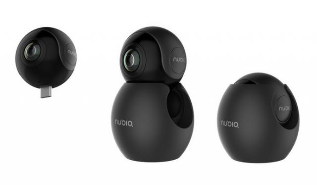 Панорамная камера Nubia NeoAir стоимостью $100 совместима со смартфонами, оснащенными разъемом USB-C