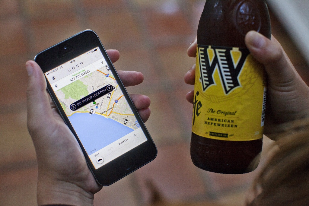 Приход Uber коррелирует со снижением «пьяных» ДТП в городе - 1