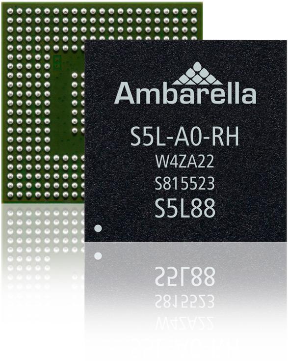 Однокристальные системы Ambarella S5L рассчитаны на выпуск по нормам 14 нм
