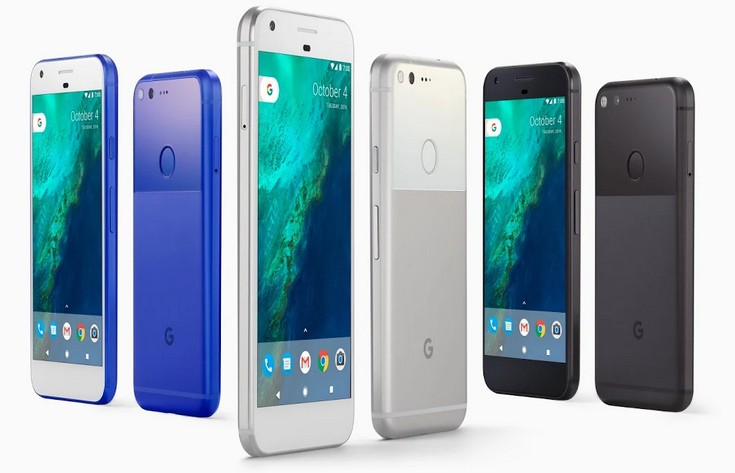 В смартфонах Google Pixel уже используются панели AMOLED