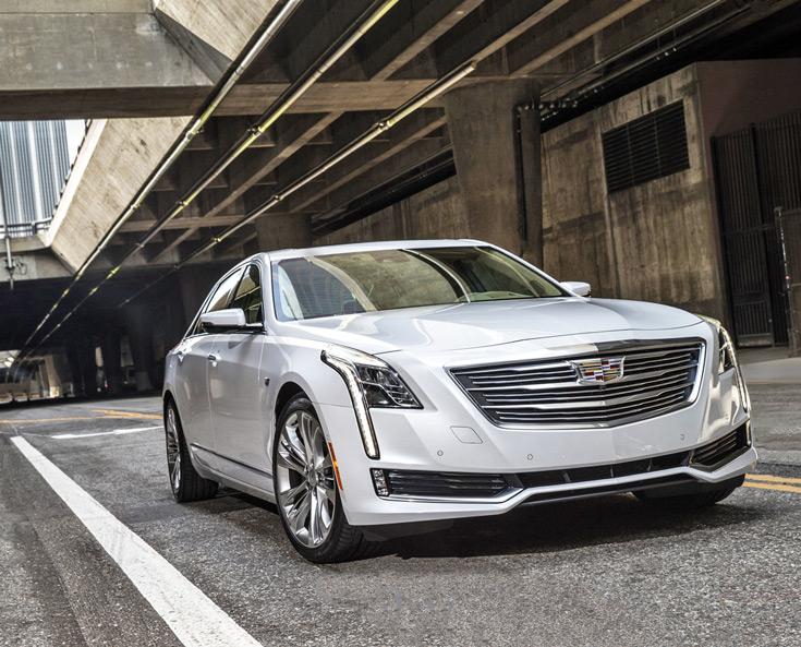 Первым технологию Super Cruise получит автомобиль Cadillac CT6