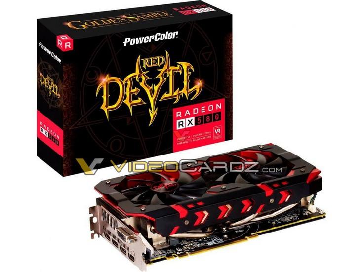 3D-карта Red Devil Radeon RX 580 Golden Sample получит новый кулер