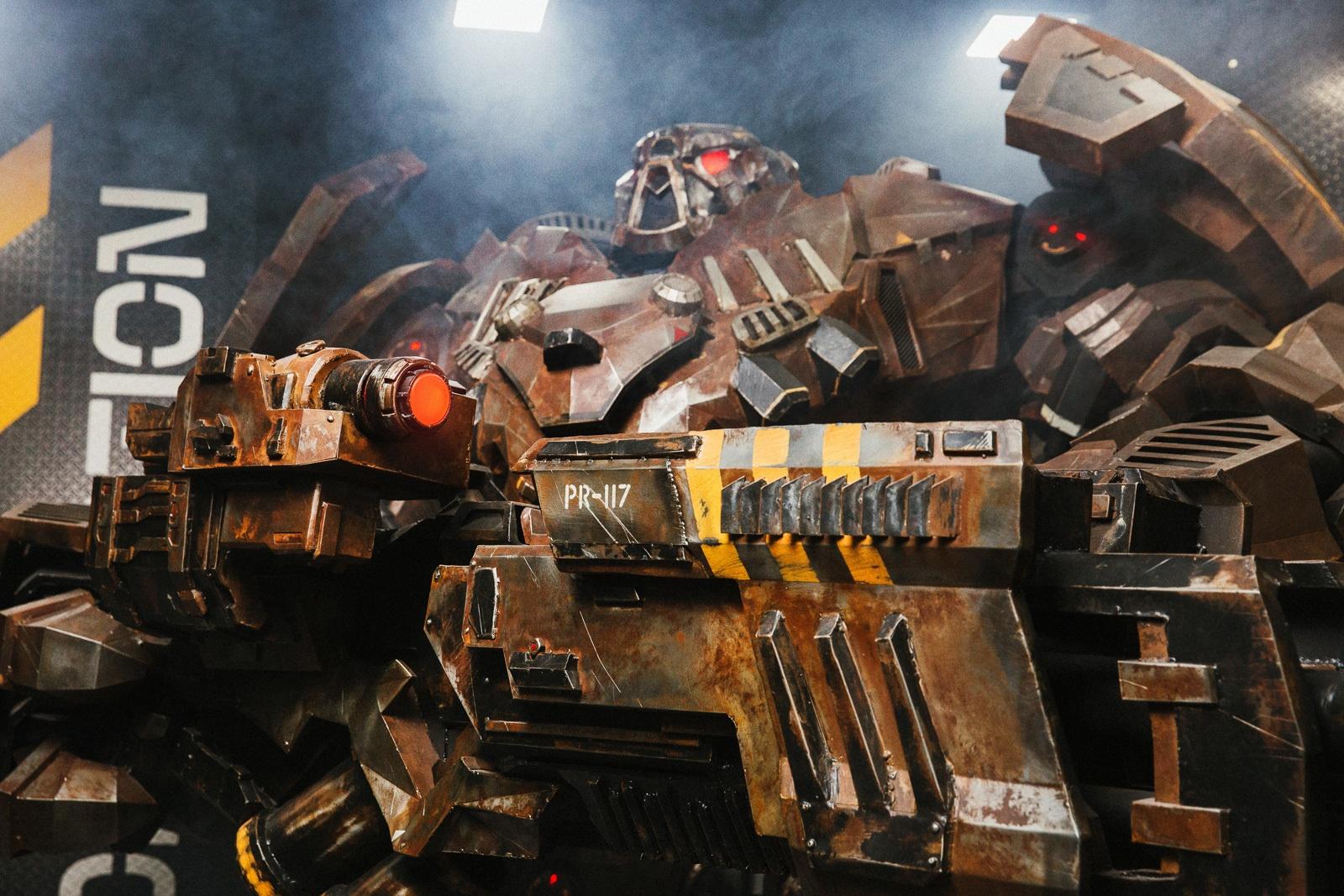 Как превратить 3D модель в 800-килограммового робота - 1