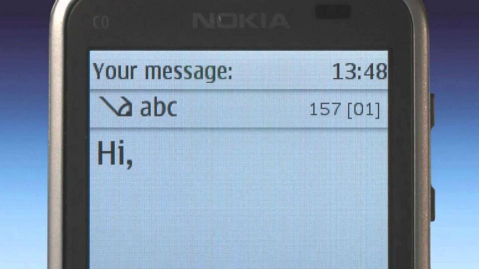 История SMS: как передать текст по голосовому каналу - 1
