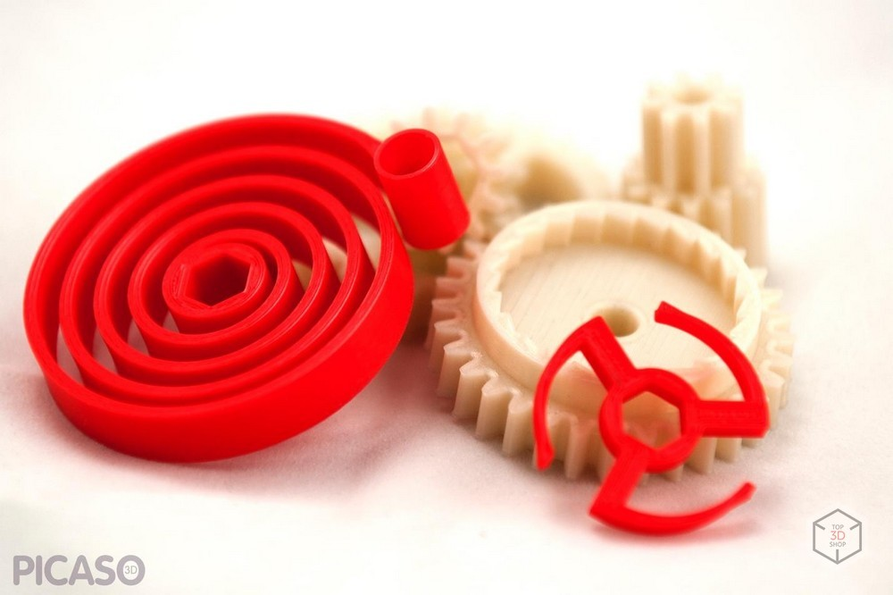 Как печатает Picaso 3D Designer X Pro - 11
