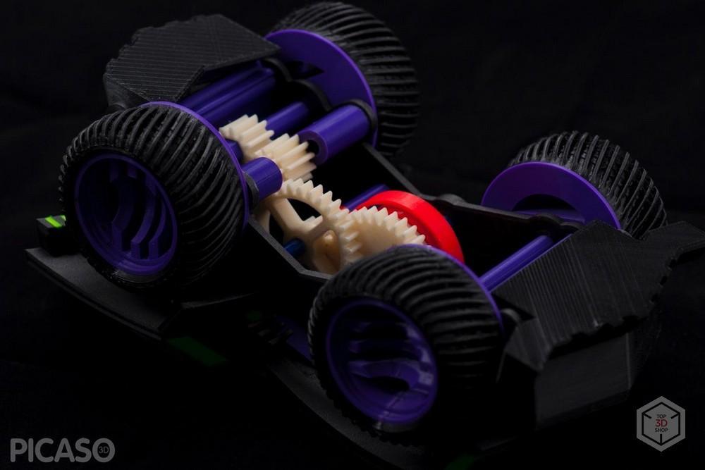 Как печатает Picaso 3D Designer X Pro - 12